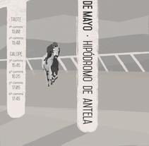 Cartel.Poster. Evento deportivo. Um projeto de Design de Melanie Waidler         - 27.04.2016