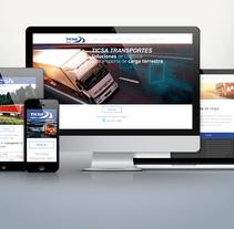 Sitio Web TICSA Logística. A Software Development project by As Diseño Diseño Web Monterrey         - 01.05.2016