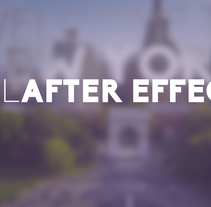 Reel After Effects 2016. A Motion Graphics, and Post-Production project by Pep T. Cerdá Ferrández - May 04 2016 12:00 AM