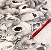 Dibujos. A Illustration, and Fine Art project by Óscar Lloréns - 03-05-2016