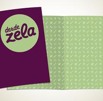 Desde Zela, Branding e identidad. Um projeto de Br e ing e Identidade de Rodrigo Rojas - 15-04-2014