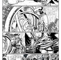 Pruebas para posibles colecciones. A ver si os suenan estos personajes.. Un proyecto de Comic de Salvador Navarro Portillo         - 04.05.2016