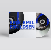 Erik Emil Eskildsen CD cover. A Design, Art Direction, and Graphic Design project by dobarrobello         - 08.05.2016