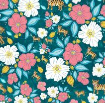 Proyecto: pattern for  Modaclique . Um projeto de Design, Design de vestuário e Design gráfico de Susana López         - 09.05.2016