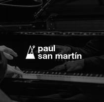 Paul San Martín, sitio web. Un proyecto de Diseño, Diseño gráfico y Diseño Web de TGA +  - 16-05-2016