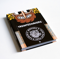 LIBRO TREINTEENAGERS. A Design, Illustration, Character Design, Editorial Design, Packaging, and Comic project by Juan Díaz-Faes - 17-05-2016