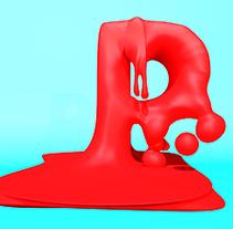 Mi Proyecto del curso: Lettering 3D: modelado y texturizado con Cinema 4D. A 3D project by Rubén Ortega Cidoncha - 09-10-2016