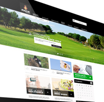 Web Complejo Deportivo Race. A Graphic Design, Interactive Design, UI / UX, and Web Design project by Niko Tienza - Apr 10 2015 12:00 AM