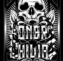 One Kill . Um projeto de Design gráfico de Herman Figueroa         - 14.06.2015