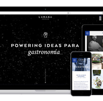 Lamaga Comunica 2016. Un proyecto de Desarrollo Web de Sara Row - 15-04-2016