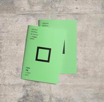 NONarquitectura - Casa Zip. Un proyecto de Diseño, Fotografía, Cine, vídeo, televisión, Arquitectura, Diseño editorial, Diseño gráfico, Arquitectura interior, Post-producción y Vídeo de Nabú  Estudio Gráfico  - 15-06-2016