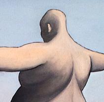 El salto del Ángel (Óleo sobre lienzo). A Painting project by Angel Asperilla         - 17.06.2016
