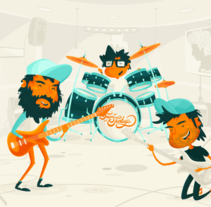 TENLEGS / START UP VIDEO. A Illustration, Motion Graphics, Animation, Br, ing, Identit, Character Design, and Graphic Design project by MEMOMA Estudio          - 22.06.2014