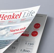 Henkel Life. Um projeto de Design editorial e Design gráfico de Maria Queraltó - 24-06-2016