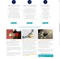 CerrajerosToledo.org. Um projeto de Marketing e Web design de Francisco Moreno         - 03.01.2016