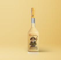 Crema de tarta de almendras Felipe Saavedra. Un proyecto de Ilustración y Packaging de Cristina de Blas Dilla         - 03.07.2016