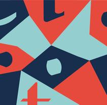 Tipografía Punto. Un proyecto de Diseño gráfico, Tipografía, Escritura y Caligrafía de Andrea Teruel - 09-07-2016