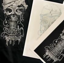 Merchandising para G-0. Un proyecto de Ilustración, Diseño gráfico y Serigrafía de homoastral         - 12.11.2016