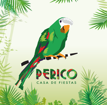 Perico - Casa de fiestas. A Editorial Design, and Graphic Design project by Florencia  Vargas - 10-07-2016