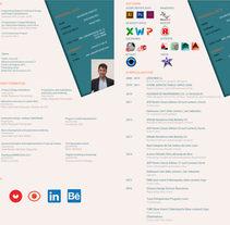 CV. A Graphic Design project by Salvador Rus Sanchez         - 12.07.2016
