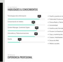 Portfolio, historial personal. A Design, Collage, and Social Media project by francisco javier saiz rodrigo         - 31.08.2015