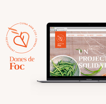 """Dones de Foc"". Website . A Graphic Design, and Web Design project by Lora Ninova          - 12.08.2016"