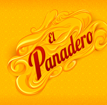 Leterring El Panadero. A Design, Illustration, Graphic Design, T, and pograph project by Maikel Martínez Pupo         - 17.08.2016