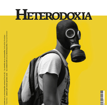 Revista HETERODOXIA. A Design, Art Direction, Br, ing, Identit, Editorial Design, Graphic Design, T, and pograph project by José Antonio Arreza Pérez - 29-03-2016