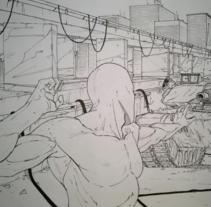 Serie de dibujos de superhéroes. A Illustration, Character Design, and Comic project by Roger Bernad         - 24.08.2016