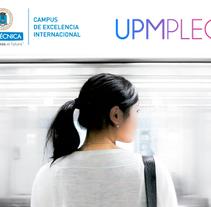 Feria de Empleo de la UPM - Imagen, Material Gráfico y Web. A Design, UI / UX, Editorial Design, Graphic Design, and Web Design project by Nuria Muñoz         - 29.08.2016