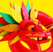 Quetzalcōātl. A 3D project by Jorge Fernández Linares - 02-09-2016