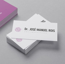 Dr. José Manuel Rois. A Br, ing, Identit, and Graphic Design project by Xana Morales         - 19.09.2015
