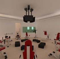 GymVR. A 3D, and Architecture project by Jesús Pantaleón - 07-09-2016