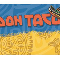 Don Taco // Restaurante Mexicano. A Design, and Editorial Design project by Alejandra Iglesias Lourés         - 24.11.2006