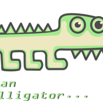 I´m an alligator.... A Design, Illustration, Character Design, Fine Art, Graphic Design, and Comic project by Andrea Balza         - 14.09.2016