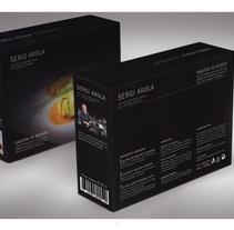 SERGI AROLA premium chef. Un proyecto de Diseño gráfico y Packaging de Xavier Puntes Ibañez - 31-05-2011