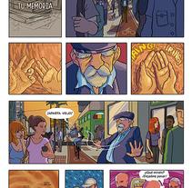 Mi Proyecto del curso: El cómic es otra historia - Donde duerme tu memoria. Un proyecto de Ilustración y Comic de Sergio  R. Cerón - 30-05-2017