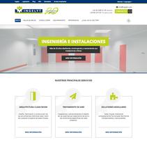 Diseño página web - Ingelyt. Un proyecto de Diseño Web de Néstor Tejero Bermejo - 26-09-2016