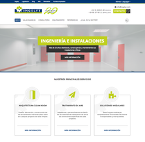Diseño página web - Ingelyt. A Web Design project by Néstor Tejero Bermejo - 26-09-2016