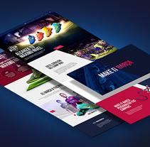 FC Barcelona Megastore. Un proyecto de UI / UX, Dirección de arte, Arquitectura de la información, Diseño interactivo y Diseño Web de Plastic Studio         - 07.07.2015