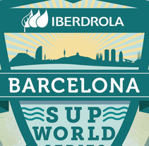 Iberdrola Barcelona SUP World Series. A Design, Art Direction, and Lighting Design project by daniel berea barcia         - 24.06.2015