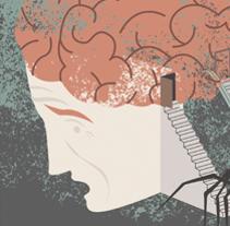 COVER Nature Neuroscience. Un proyecto de Diseño e Ilustración de Lidia Lobato - 28-09-2016