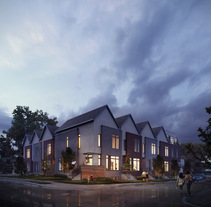 New Neighbors en Altadore, Canada. A Design, Photograph, 3D, Architecture, Interior Architecture, and Post-Production project by Phrame  - Jul 05 2016 12:00 AM