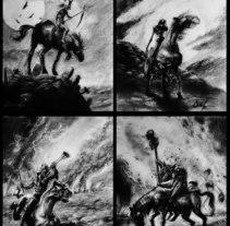 Comic, series. A Illustration project by Juan Jose Huertas Chuwa - 08-10-2016
