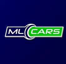 Diseño de logotipo para ML CARS, un centro ubicado en la provincia de Huelva y dedicado a la compra venta de vehículos de segunda mano y ocasión.. A Design, Br, ing, Identit, and Graphic Design project by Alejandro Prieto Jaime         - 08.10.2016