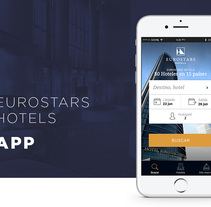 Eurostars Hotels App. Un proyecto de Diseño Web de Carla Pijoan Martin         - 13.10.2016