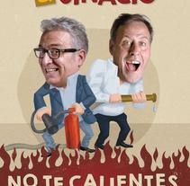 No te calientes. Un proyecto de Ilustración de Alejandro Antoraz Alonso - 15-10-2016
