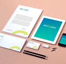 Rebranding Reciclarte. A Graphic Design project by José Manuel Piñón Cubero         - 19.10.2016