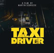 Mi Proyecto del curso: Taxi Driver. Un proyecto de Diseño gráfico de Marisa BH         - 22.10.2016