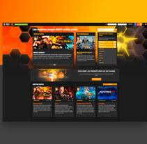 Web IDC/Games. Un proyecto de Diseño, Diseño Web y Desarrollo Web de Alex Blanco Asencio - 23-09-2016